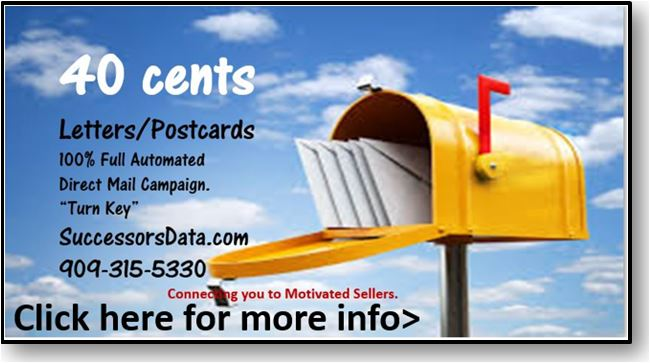probate leads postcards