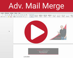 advanced mail merge