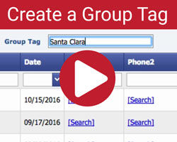 create group tag